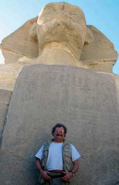 David at the Sphinx