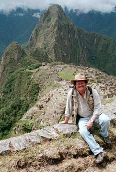 David at Machu Picchu