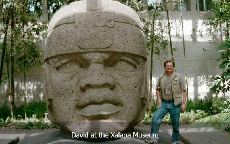David Hatcher Childress at the Xalapa Museum