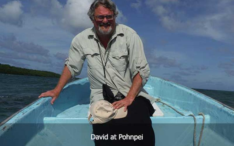 David Hatcher Childress at Pohnpei