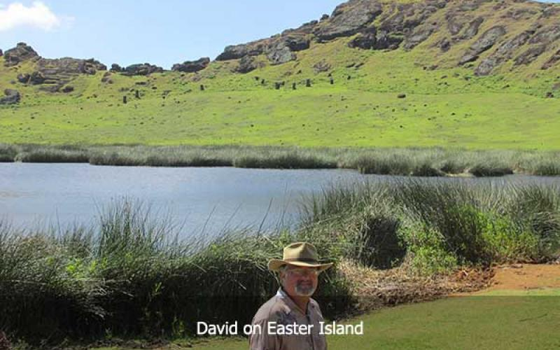 David Hatcher Childress on Easter Island